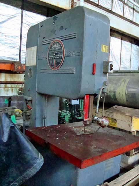 Band Saw, Doall, Vertical, 26