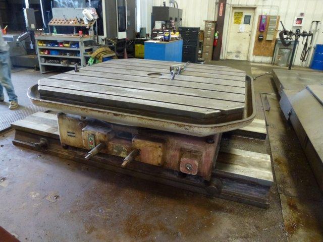 80' X 80' SKODA MODEL E20 POWERED ROTARY TABLE: STOCK #66505