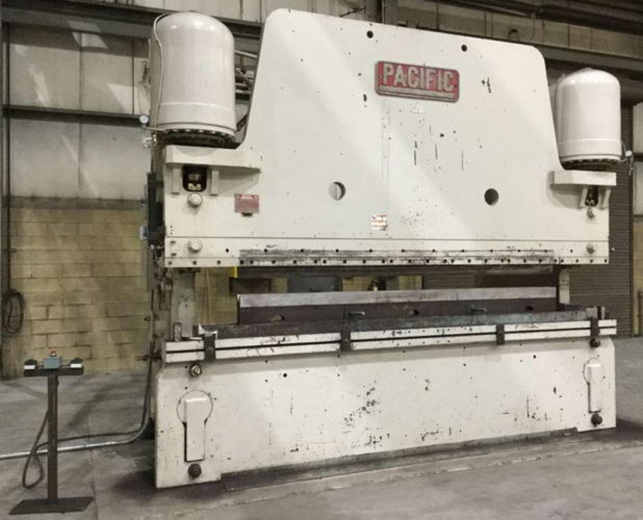 Used PACIFIC PRESS BRAKE, Model 600-14, 600 ton x 14', Stock No. 10131