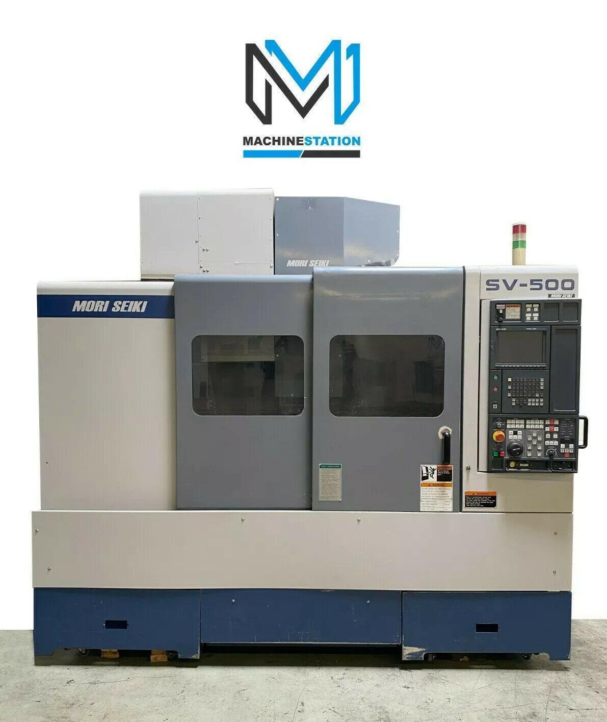 MORI SEIKI SV-500B/40 CNC VERTICAL MACHINING CENTER