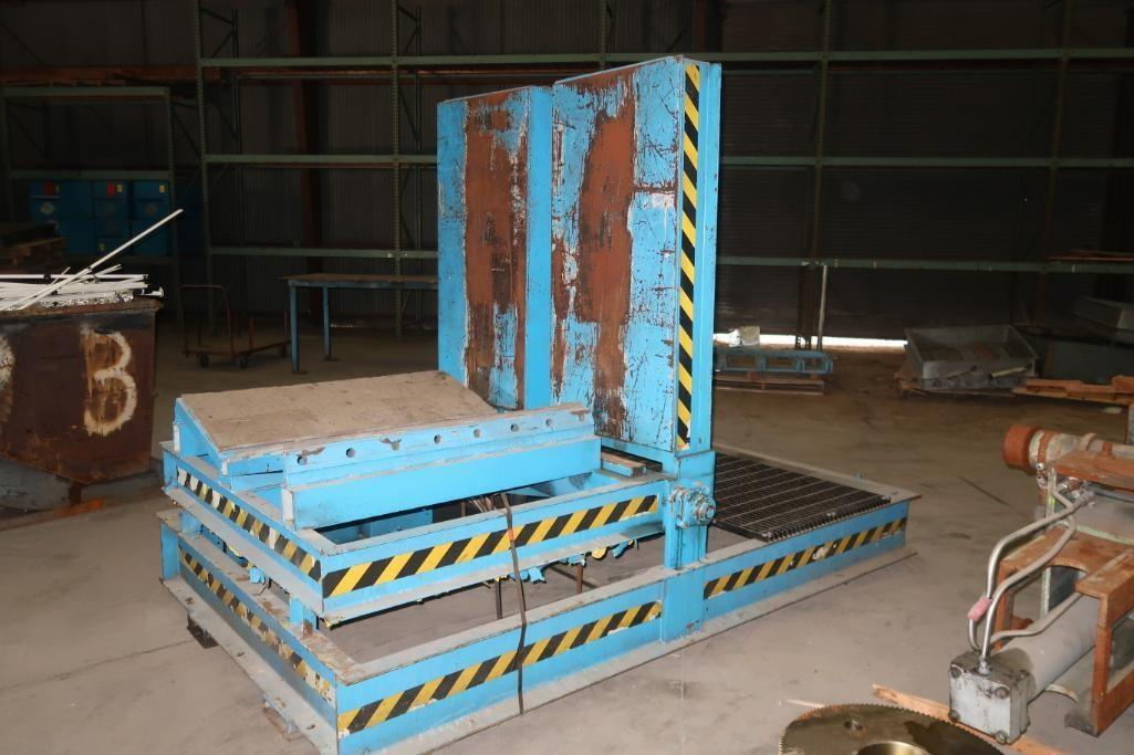 HYDRAULIC COIL UPENDER : STOCK 10413