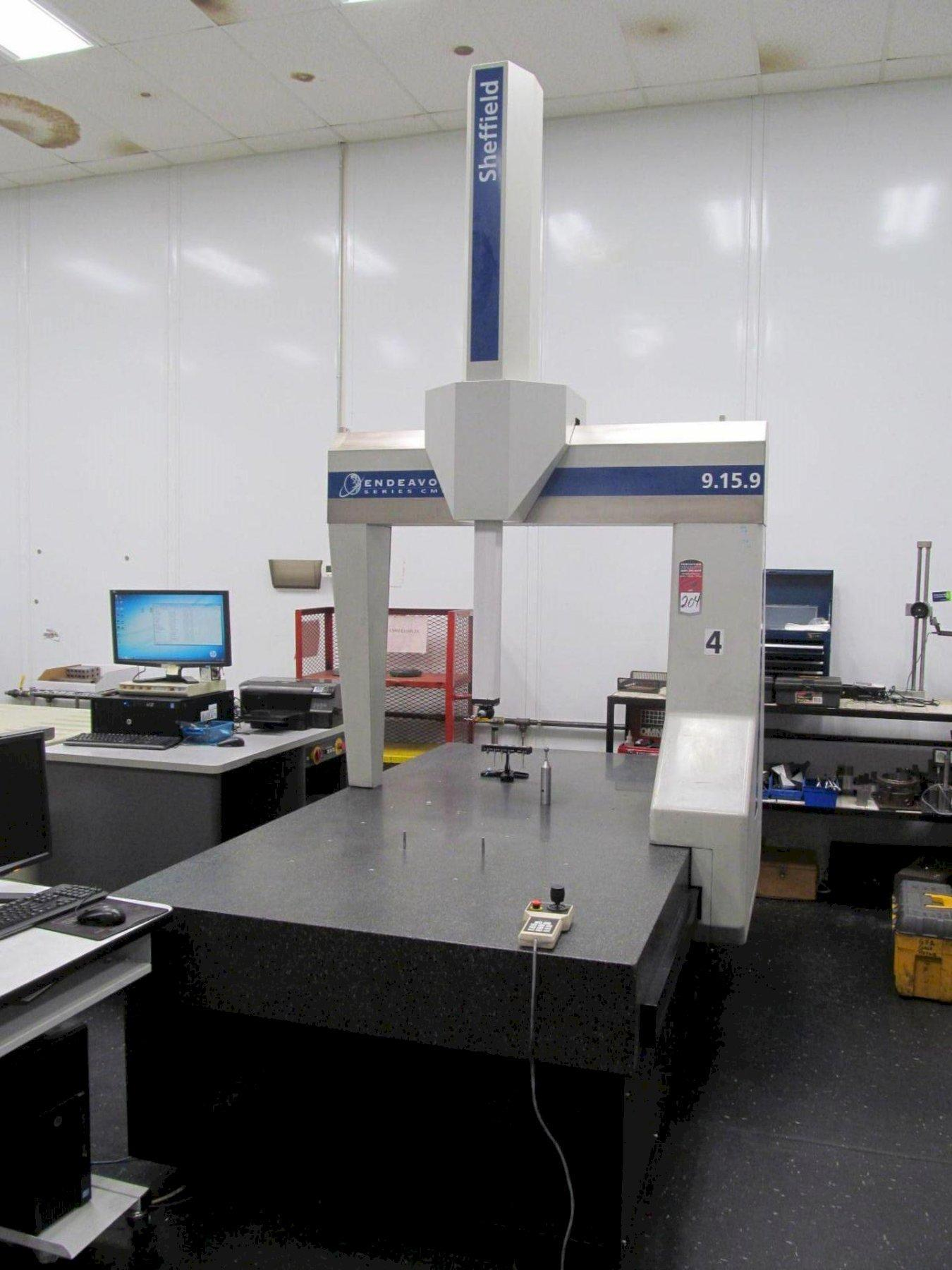 Sheffield Endeavor 9/15/9 Coordinate Measuring Machine (CMM)