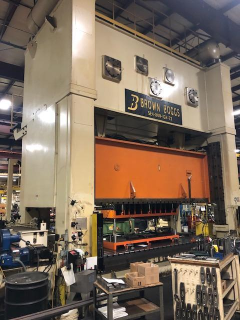 800 Ton Brown & Boggs SSDC Press