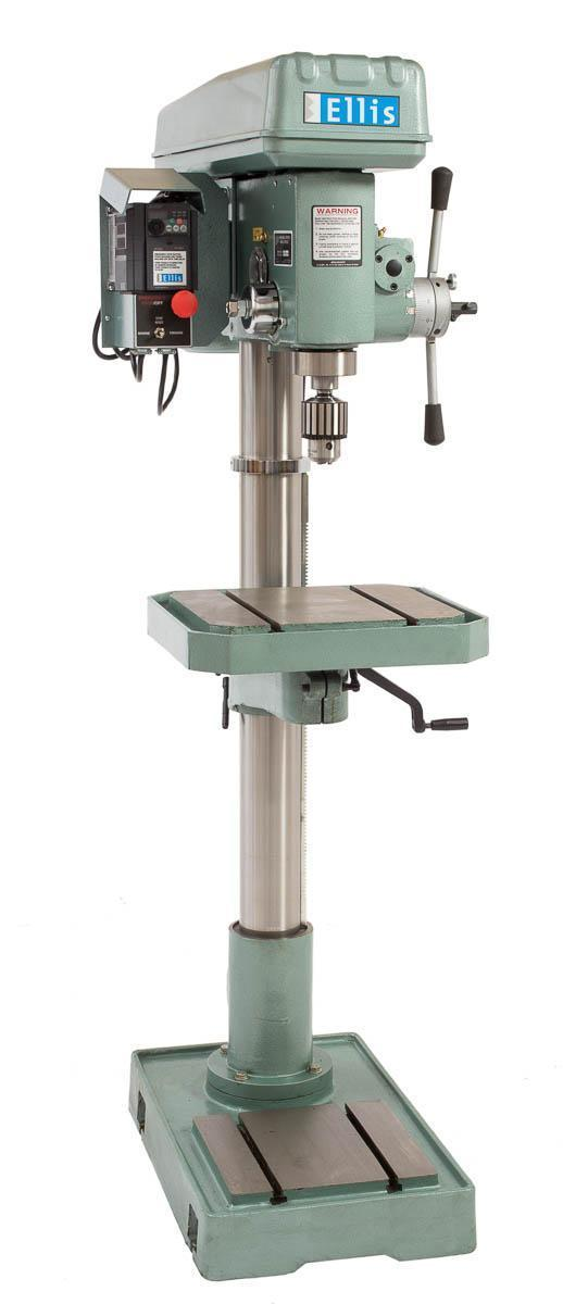 2 HP, New Ellis Drill Press Model 9400