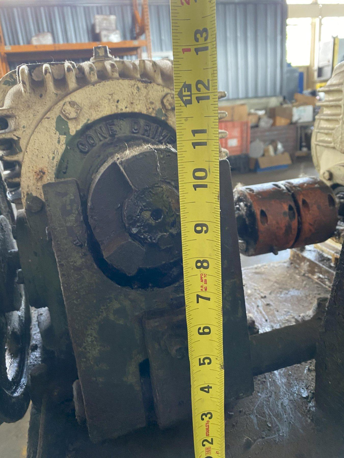 """16 STAND X 2.5"""" BRADBURY ROLLFORMER BASE WITH GEAR BOXES. STOCK # 0204020"""