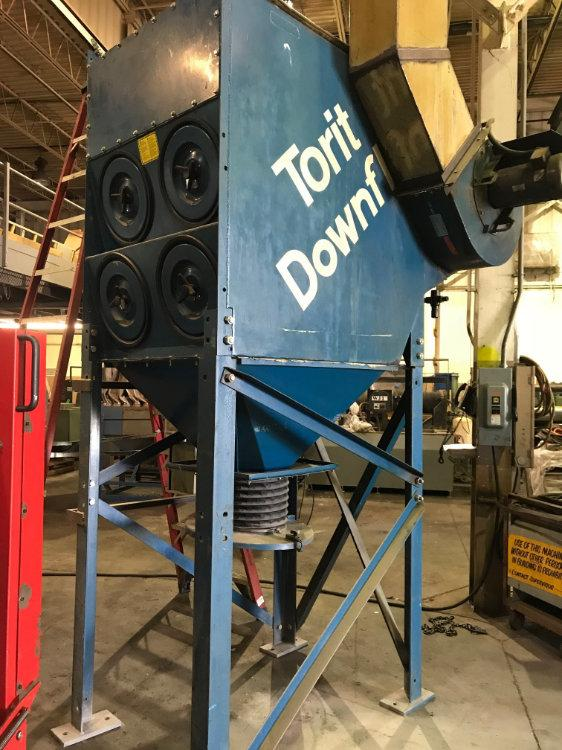 "USED DONALDSON TORIT ""DOWNFLO EVOLUTION"" DUST COLLECTOR, Model DFT2-8, 7.5 H.P., Stock No. 10484"