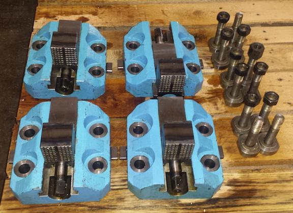 "Set of (4) 10"" Boring Mill Jaws"