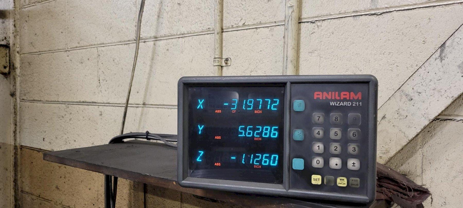 "4"" DEVLIEG 4H-120 HORIZONTAL BORING JIG MILL. STOCK # 0736721"