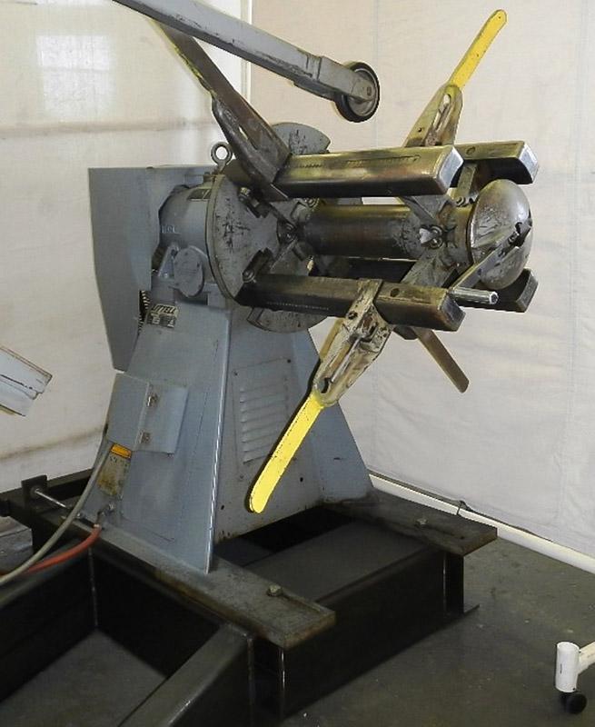 4,000 Lb. Littell Motorized Uncoiler, Model 40-24