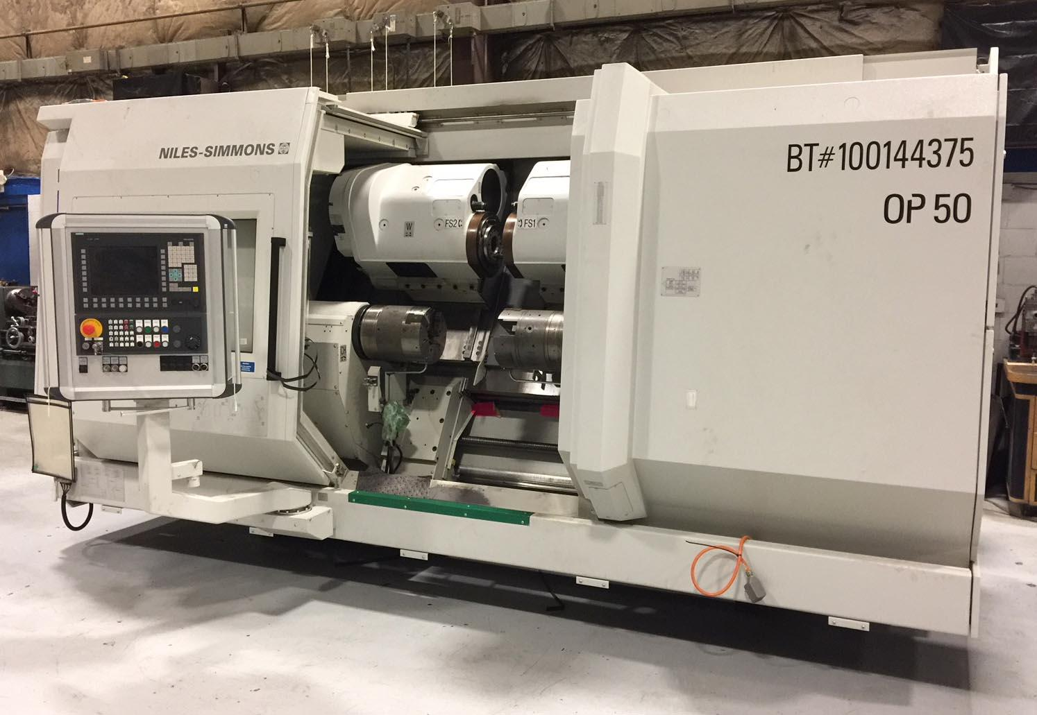 Niles Simmons N20/2 CM x 1000 - Twin Head External Crankshaft Milling Machine