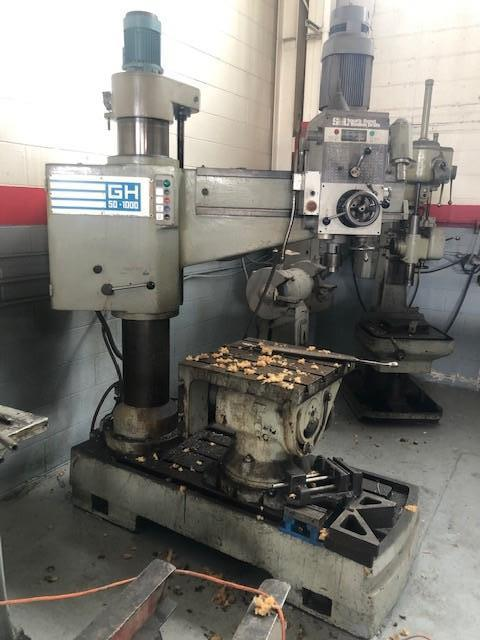 SOUTH BEND RADIAL DRILL