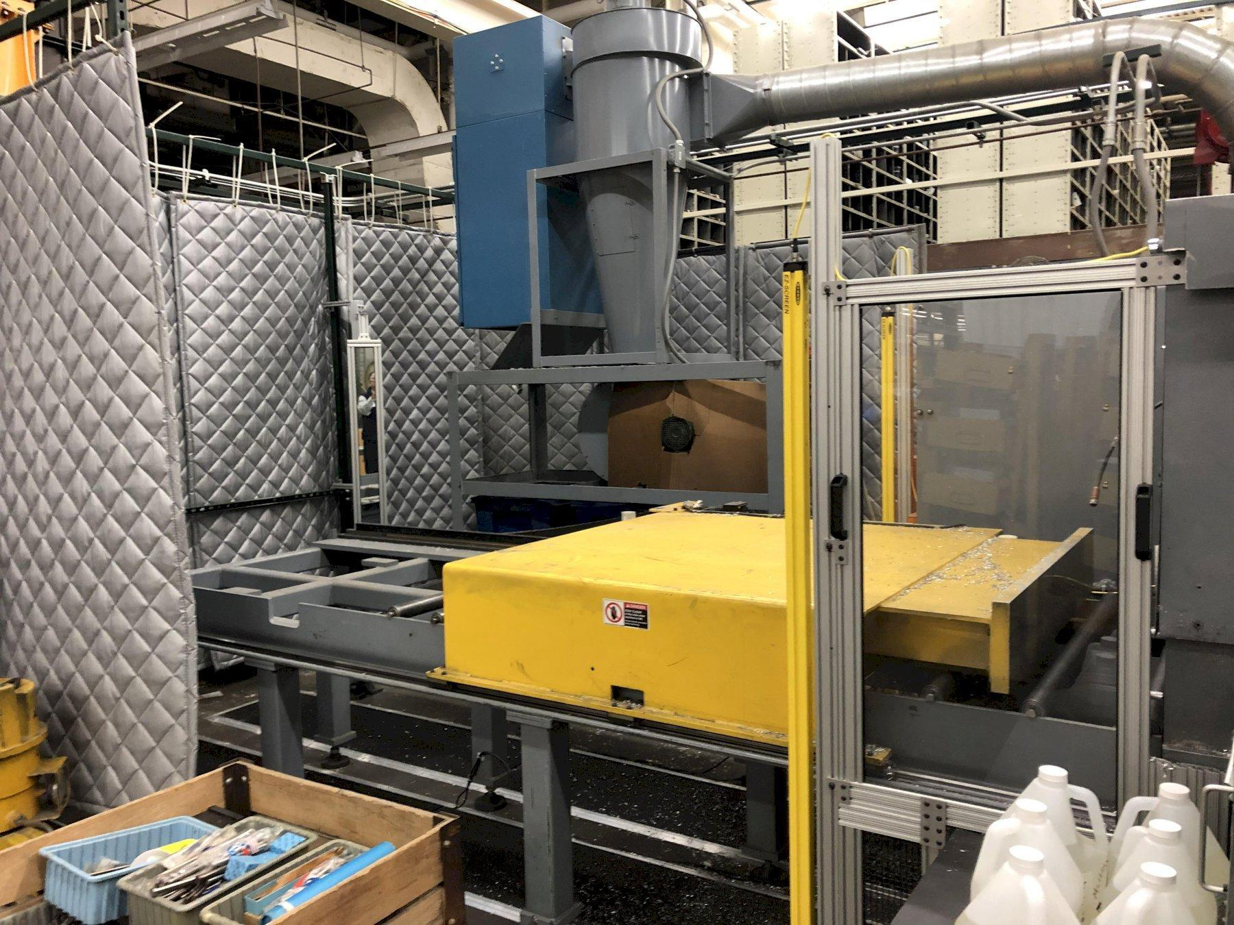 USED METLSAW MODEL CS-4 FULLY AUTOMATIC PROGRAMMABLE NON FERROUS SAW, STOCK# 10656, YEAR 2000