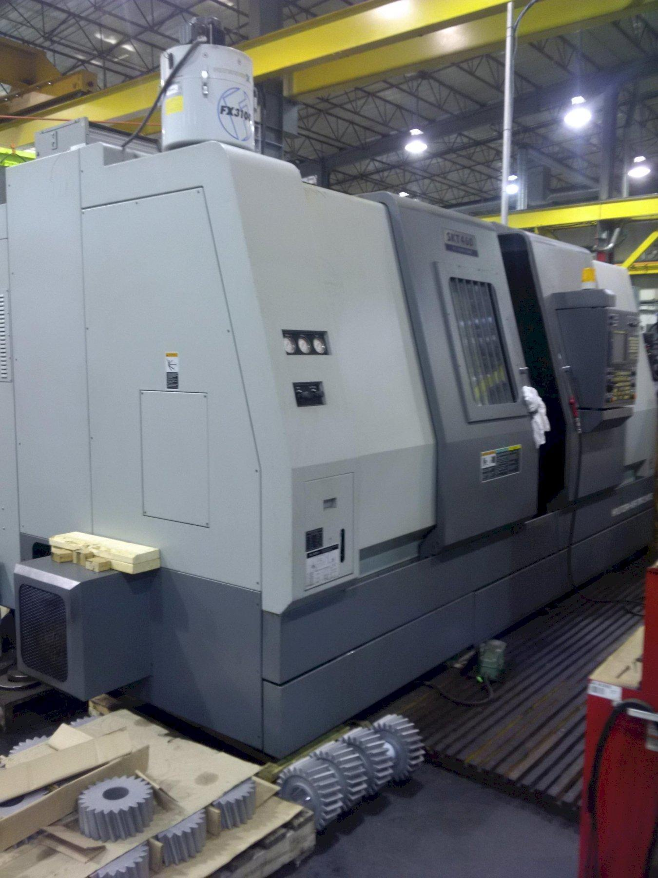 Hyundia SKT460 CNC Turning Center with 18