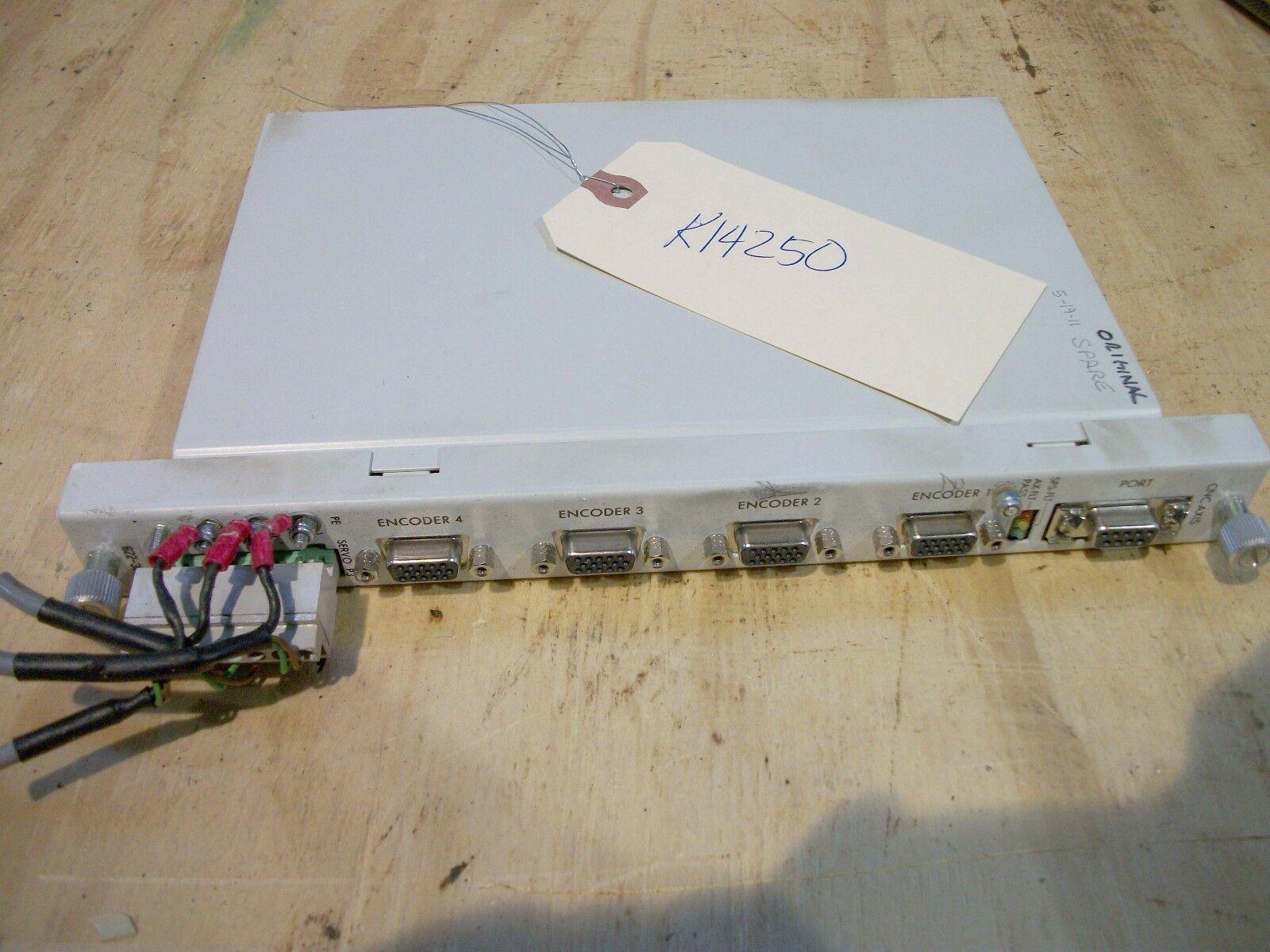 Honeywell CNC Axis IPC 4AX Board, 622-3020, WE129009, H3.1.008.P3