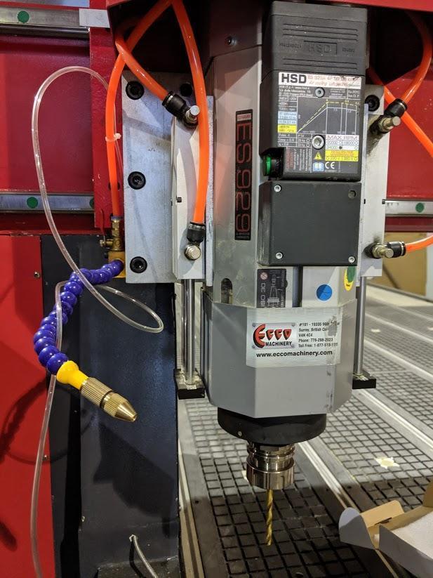 ECCO 1900 Series CATC with Syntec Controller CNC Router