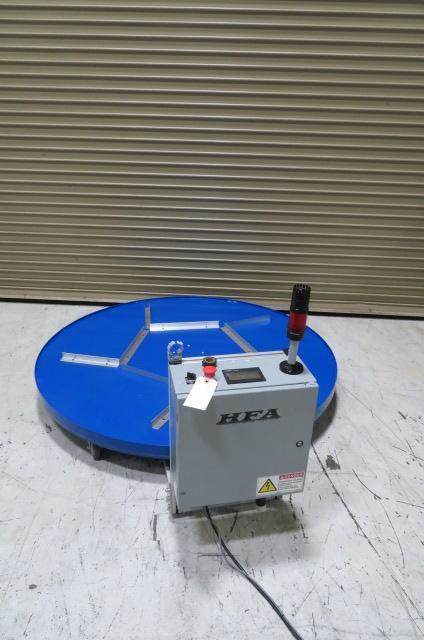 "HFA Used 60"" Turntable Box Fill System, 120V, Yr. 2015"