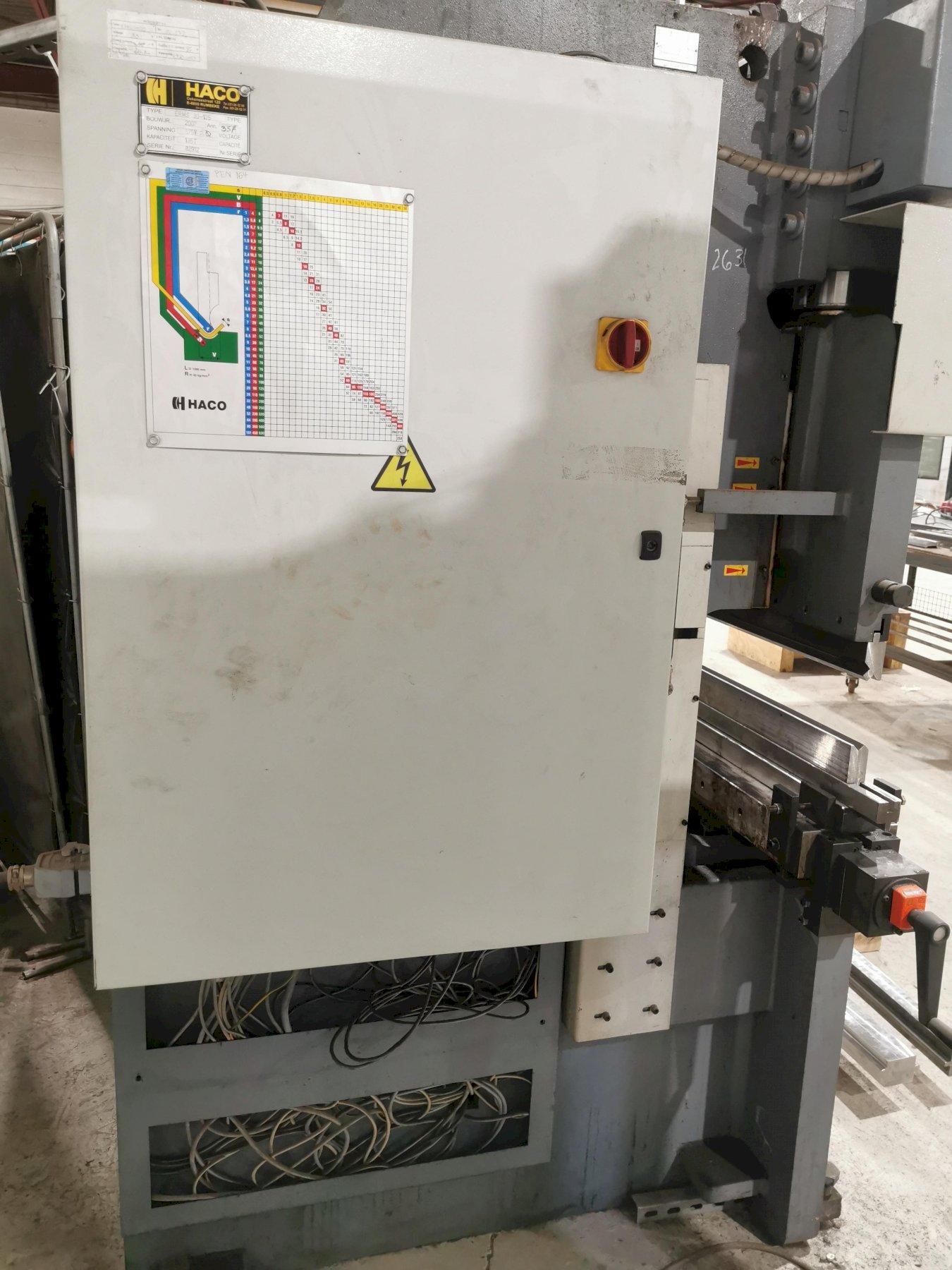 "HACO Brake Press 120"" 135 Ton 4 Axis CNC"