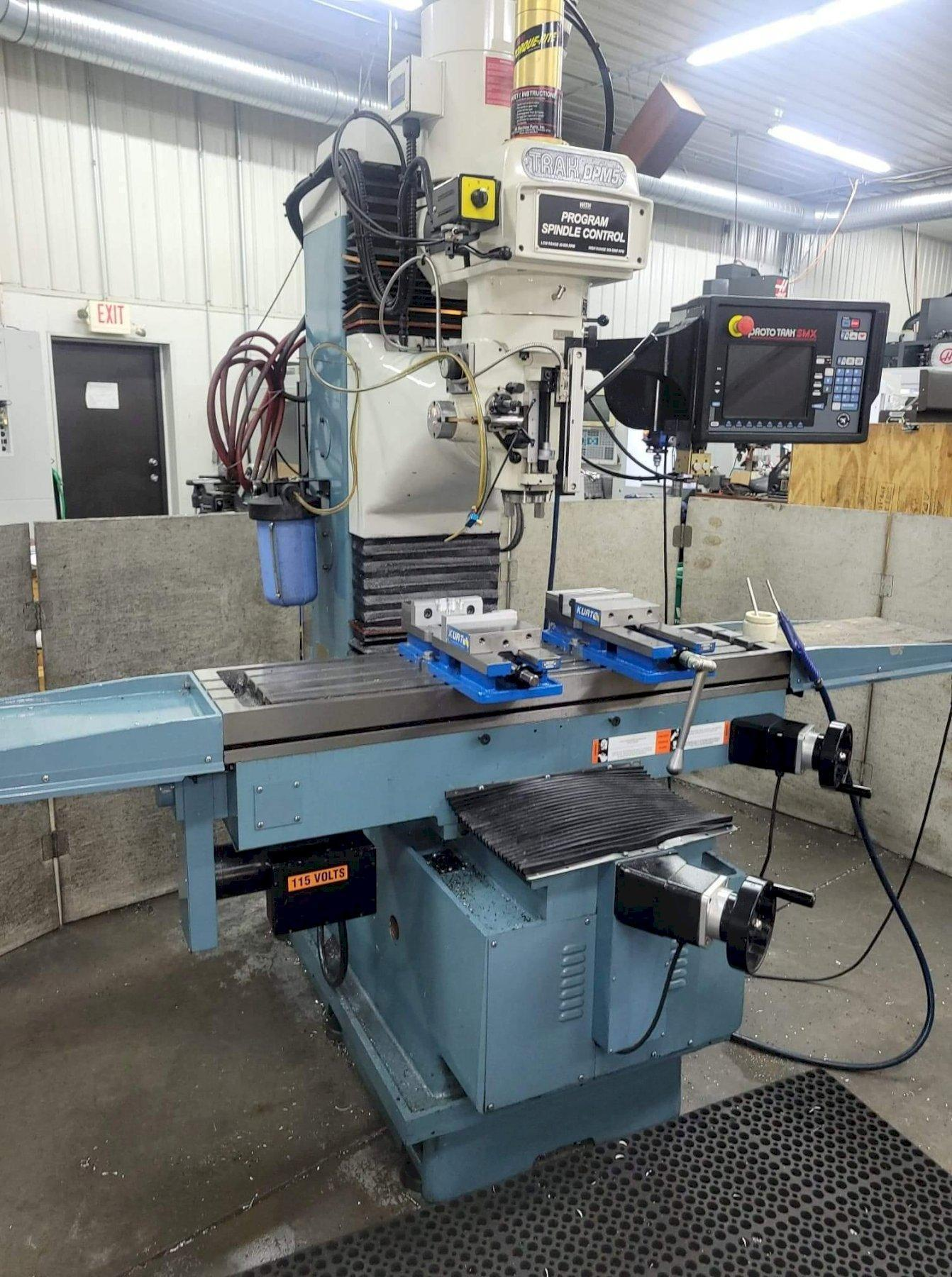 Southwestern Industries DPM SX5P CNC Bed Mill with Programmable Spindle