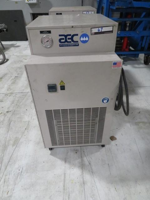 AEC Used PCA-50 Portable Air Cooled Chiller, 1/2 ton, Yr. 2014