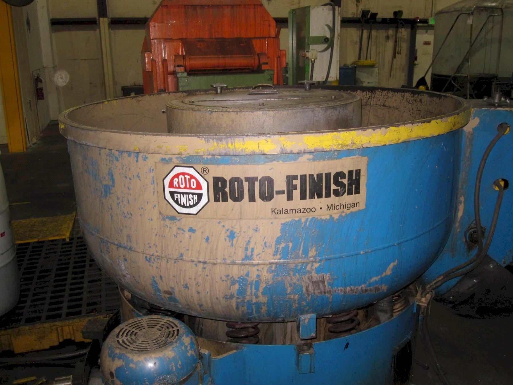Roto Finish Spiratron Extended Rouge Vibratory Finishing Machine