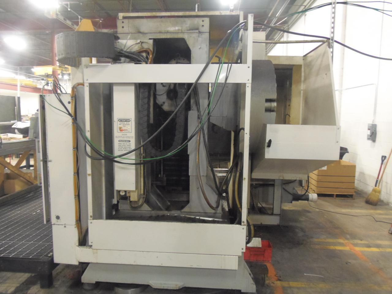Haas EC-1600-3X Horizontal Machining Center, New 2005, 50 Taper, Thru spindle coolant, 30 HP, Linear Scales, 4th Axis interface