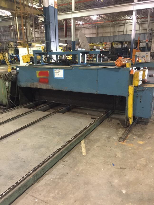 "60"" x .065"" X 40,000 LBS ROWE CUT TO LENGTH LINE"