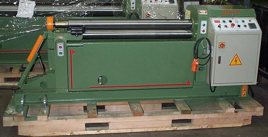 "3.1"" Dia x 5 ft, Chicago Model IPR5060 Plate Bending Rolls"