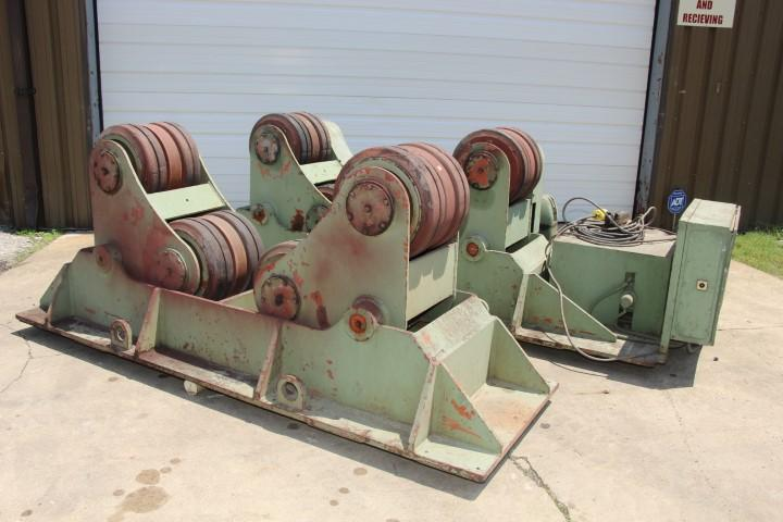 50 TON  BODE MODEL #SAR-1000 SELF ALIGNING TANK TURNING DRIVE ROLL & IDLER ROLL: STOCK #10406