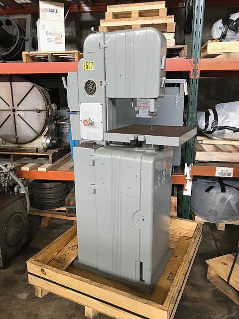 """16"""" DOALL METAL MASTER VERTICAL BAND SAW"""