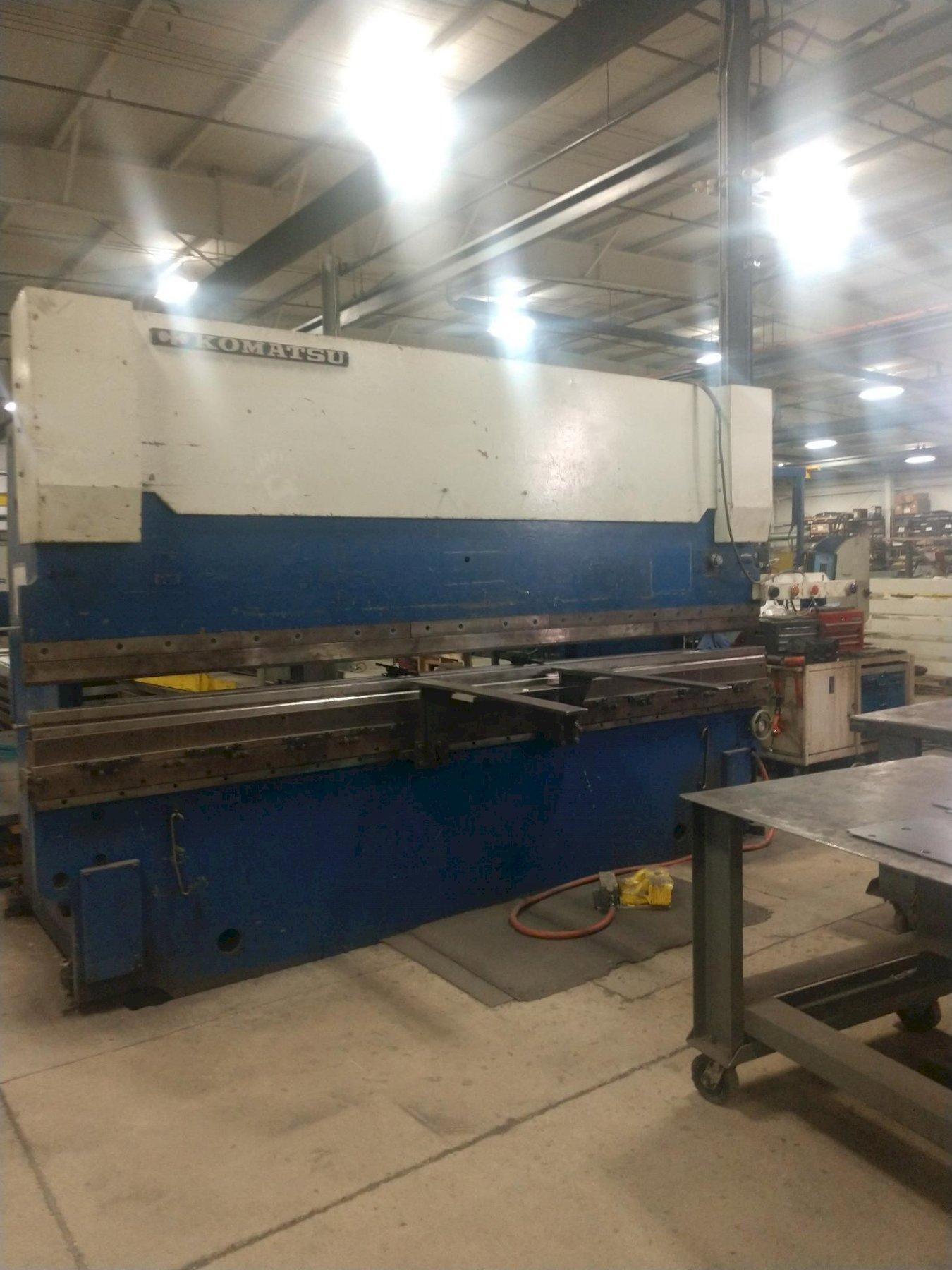 175 TON X 13' KOMATSU MODEL PHS160 HYDRAULIC PRESS BRAKE. STOCK # 0631520