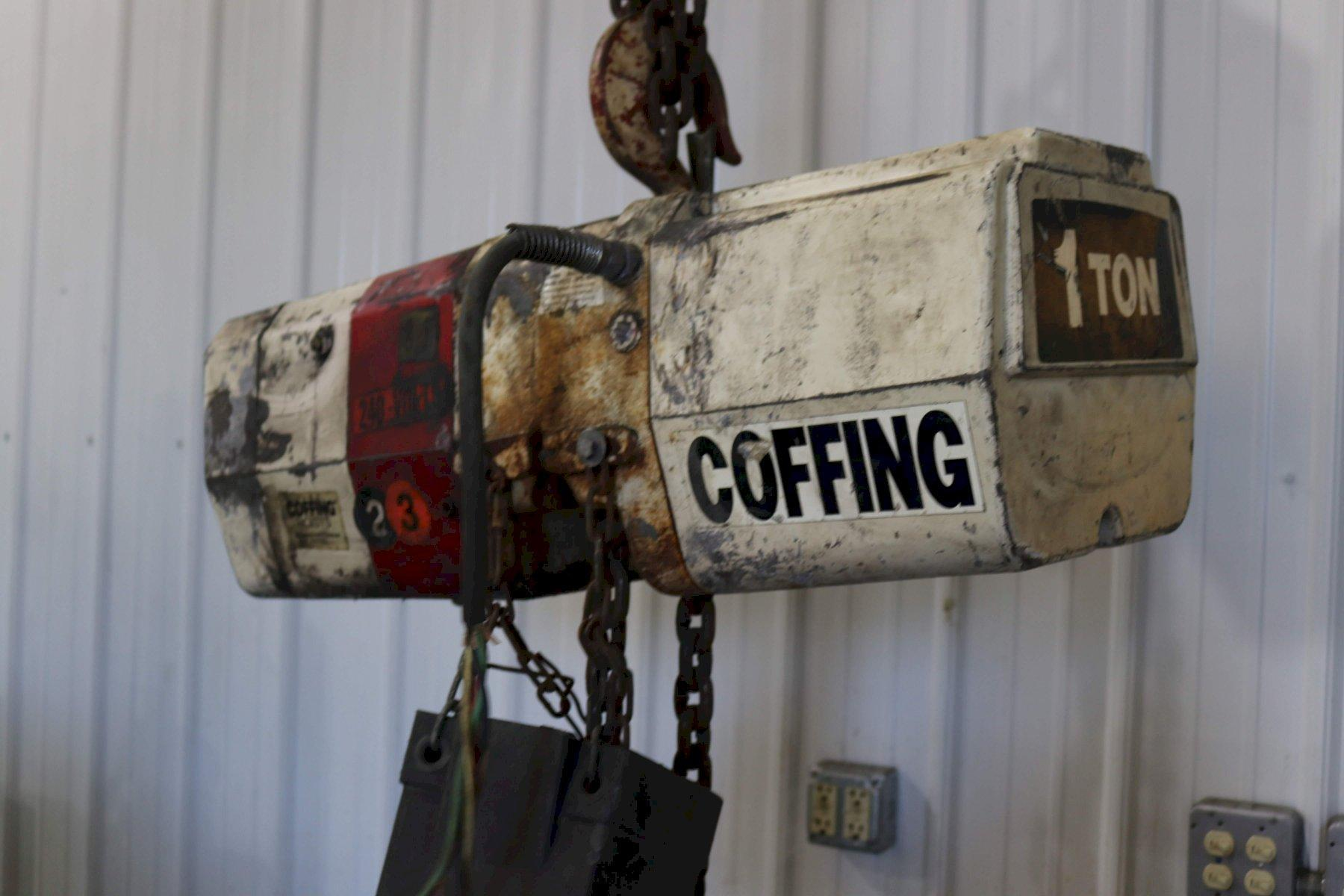 1 TON COFFING HIGH SPEED ELECTRIC CHAIN HOIST: STOCK #73084