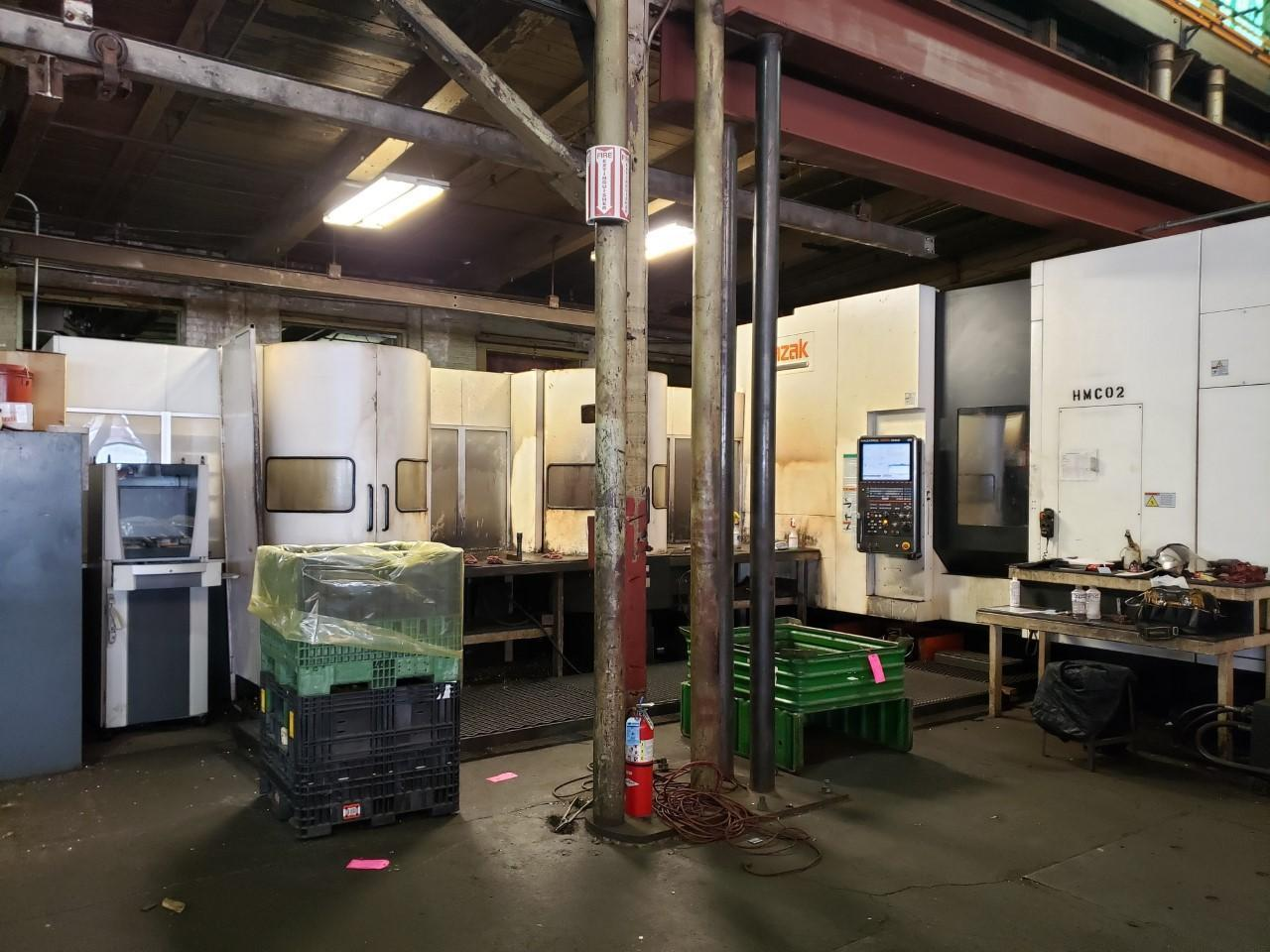 MAZAK NEXUS 6800-II WITH PALLETECH CELL HORIZONTAL MACHINING CENTER