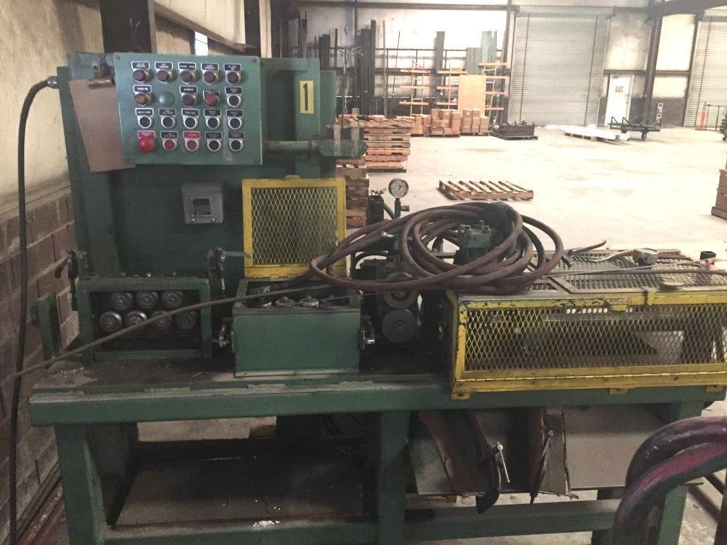 """3/8""""  Fastener Engineers HS-375 Coil Shearing Line"""