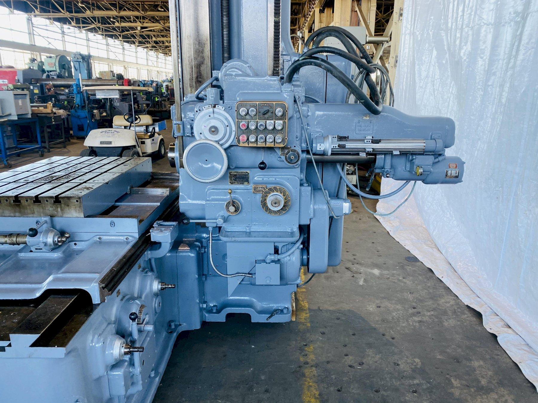 "3""  DEVLIEG 3B-48 SPIRAMATIC JIG MILL. STOCK # 1160820"