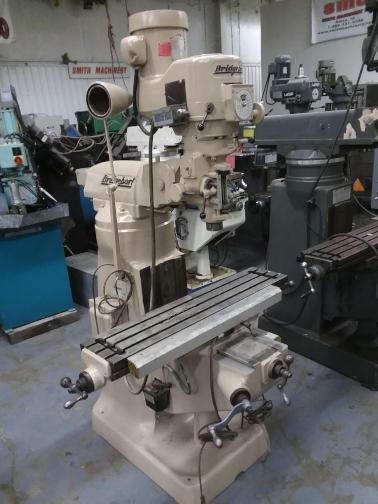 1 - PREOWNED BRIDGEPORT VERTICAL MILLING MACHINE, MODEL #: SERIES I, S/N: 173239