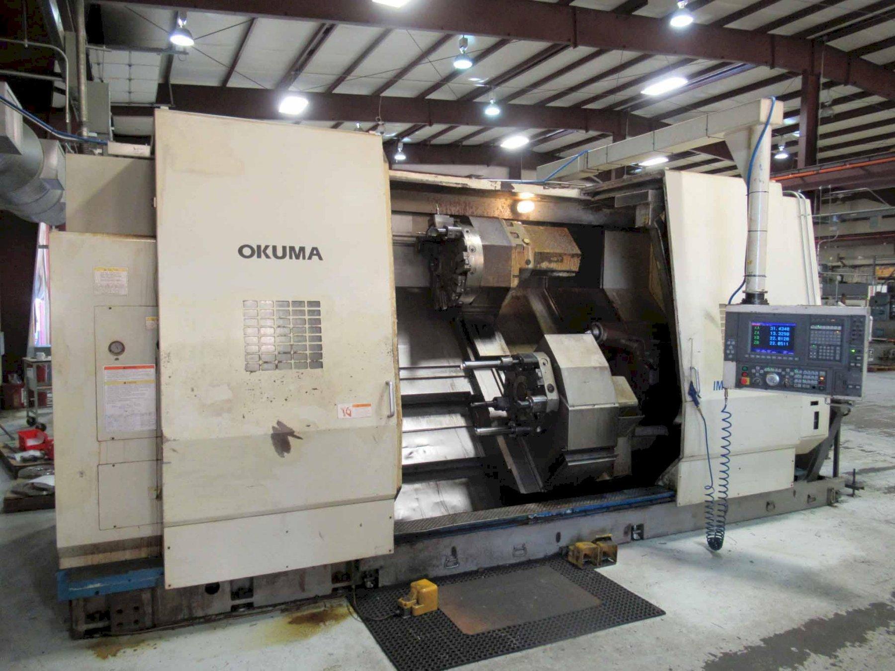 OKUMA IMPACT LU45M CNC LATHE 4-AXIS CNC LATHE 1995