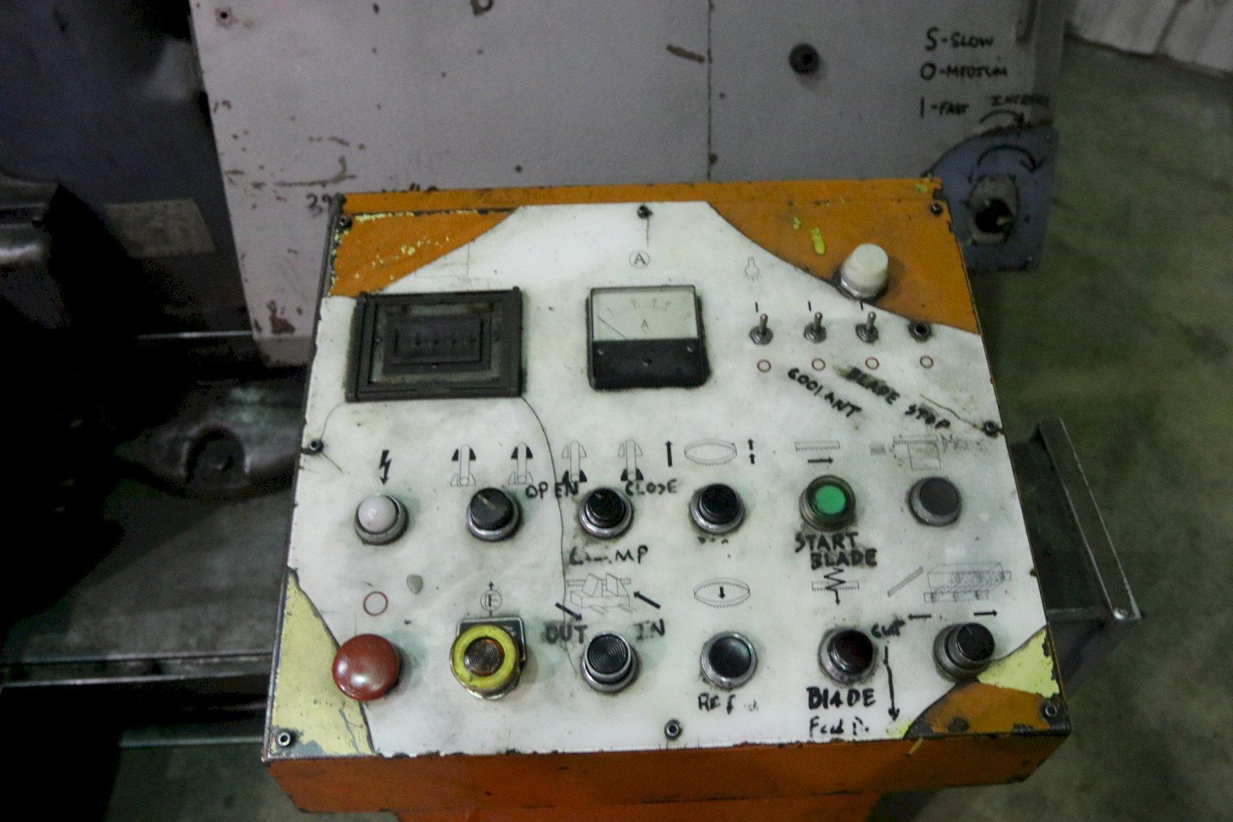 "40"" X 40"" AMADA MODEL # H-1080 HYDRAULIC AUTOMATIC HORIZONTAL BANDSAW"