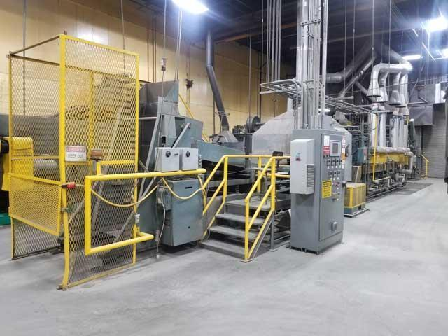 SURFACE COMBUSTION MESH BELT HARDENING & OIL QUENCH FURNACE (13851)