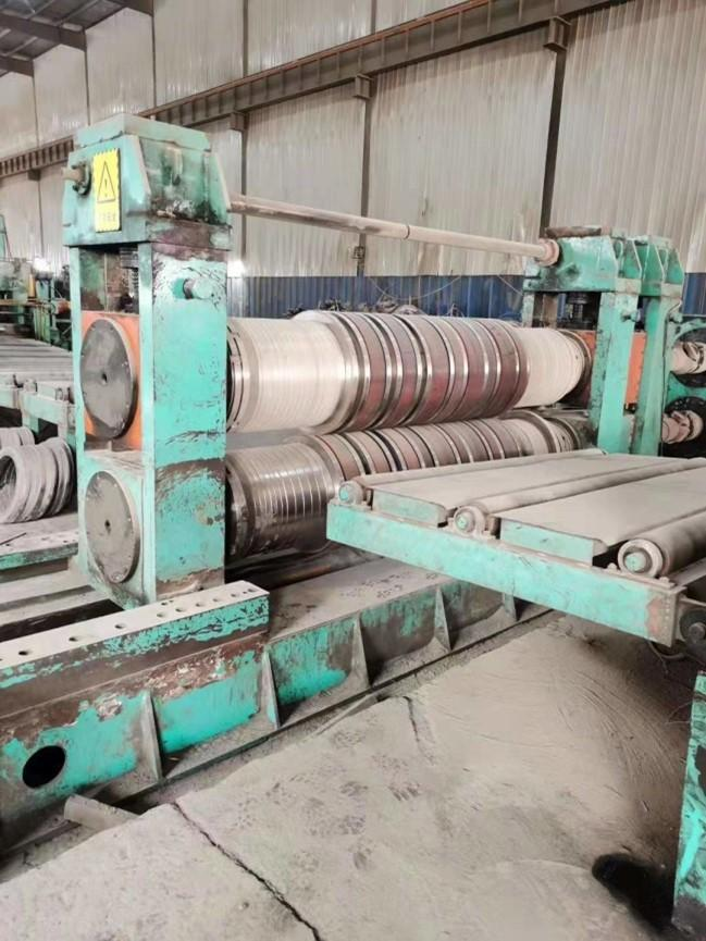 """90.5"""" (2300mm) x 5/8"""" (16mm) x 80,000# Slitting and CTL Combination Line"""