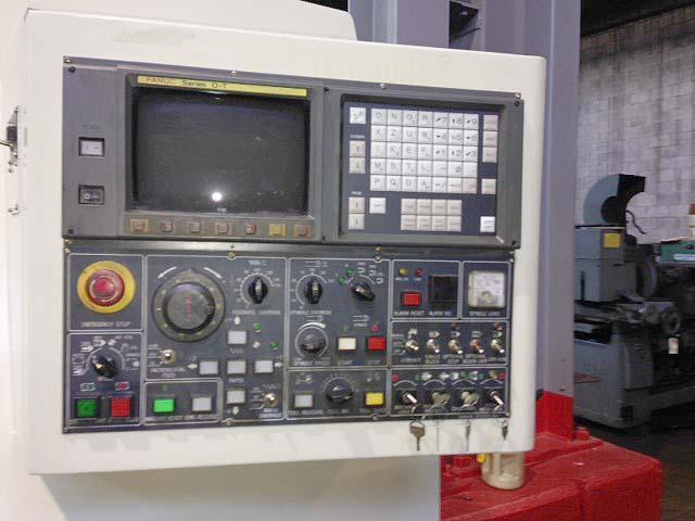 "Daewoo Puma 12S, Fanuc OT CNC Control, 22"" Swing, 10"" Chuck, Tailstock with 30"" Centers, 35HP, 3000rpm, New 1996."