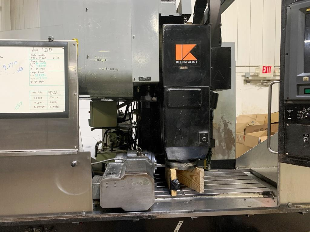 KURAKI KV-1000 3-AXIS VERTICAL MACHINING CENTER