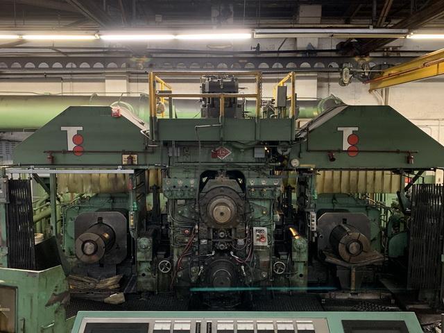 "15.5"" (393mm) x 4mm United/ I2S 4-HI Reversing Cold Rolling Mill"