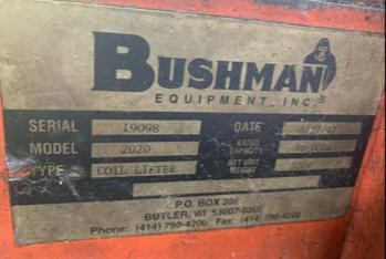 5 TON BUSHMAN ID COIL LIFT