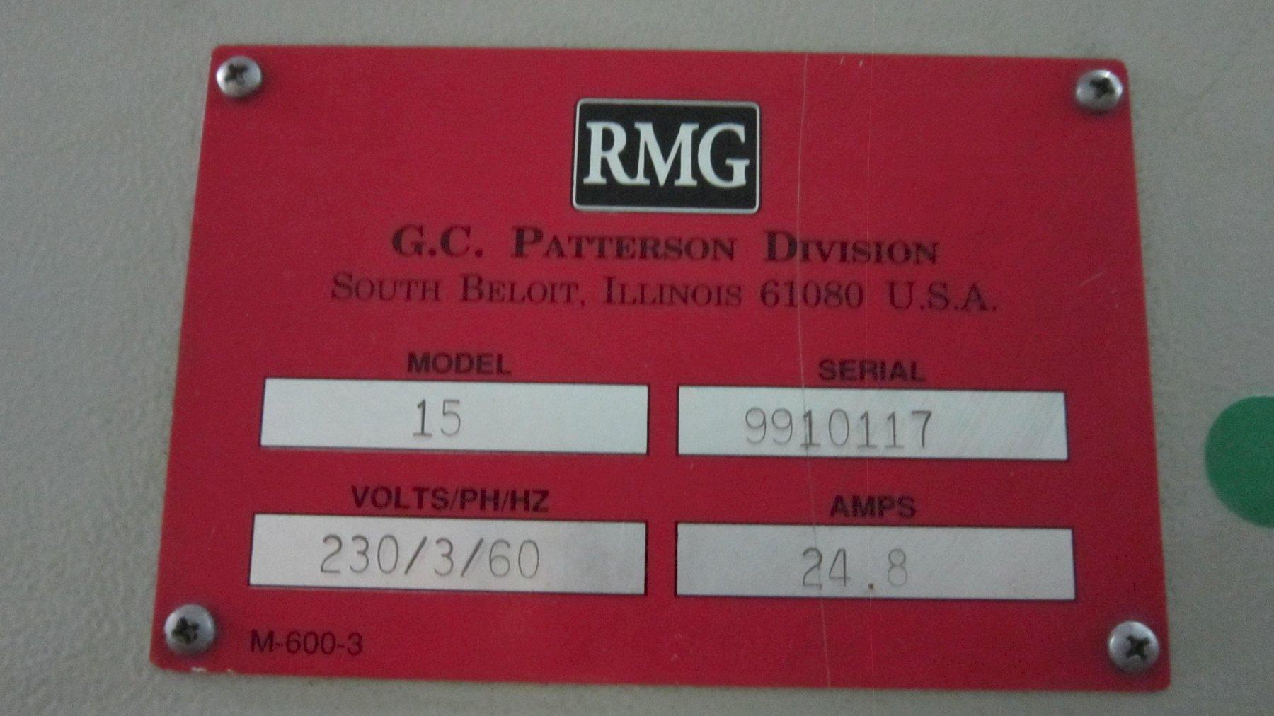 """5/16""""  RMG 15 Wire Straighten & Cut Machine"""