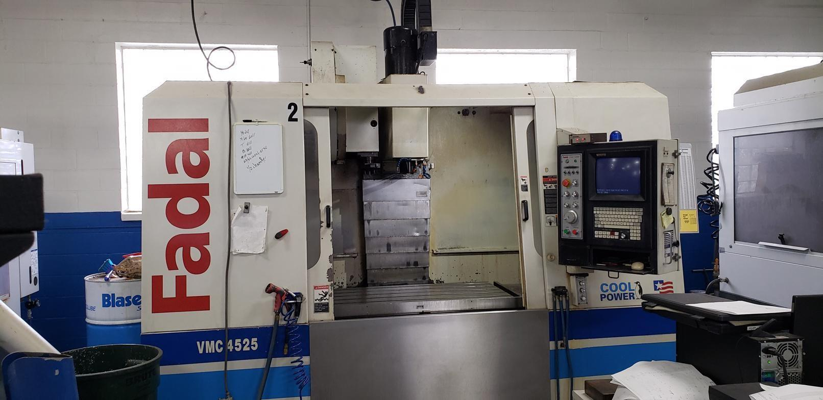 Fadal VMC 4525 CNC Vertical Machining Center With Rebuilt Spindle