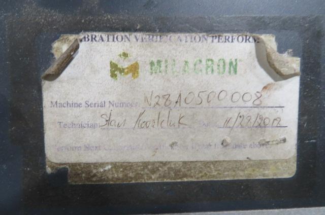 Cincinnati Used NT440 Injection Molding Machine, 440 US ton, Yr. 2007, 21 oz.