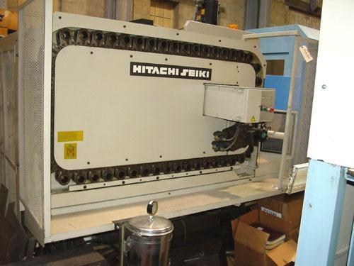 """HITACHI SEIKI HC400 5-AXIS, Fanuc 15M CNC Control, 8"""" Nikken 5th Axis Add On Table, X=20"""", Y=18"""", Z=18"""", Contouring Pallets, Cut Plastic, 50 ATC, New 1992."""