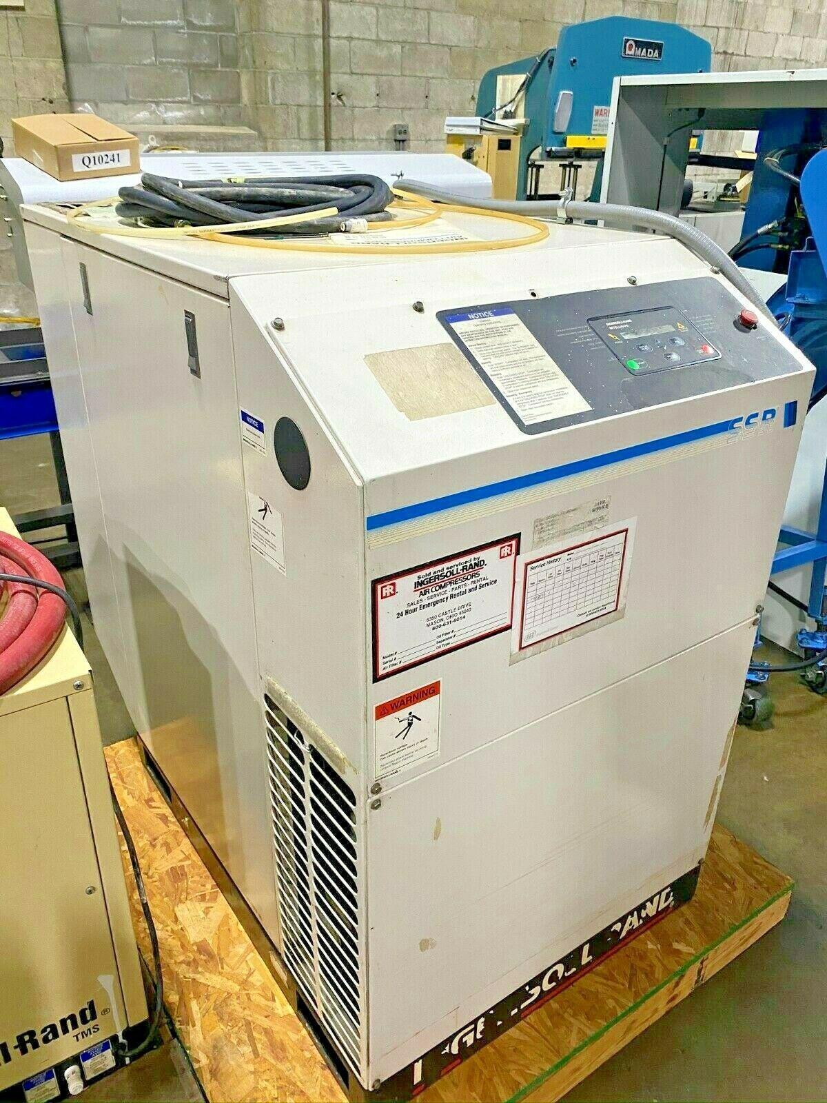 INGERSOLL RAND SSR-EP25SE COMPRESSOR & Dryer TMS0100, 25 HP Compressor & Dryer
