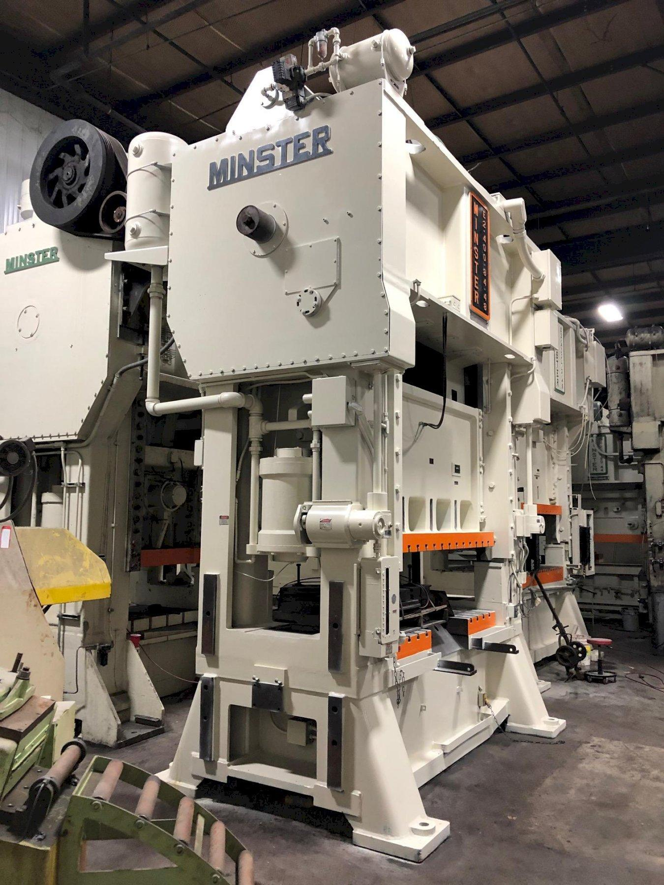 400 TON MNSTER SSDC PRESS