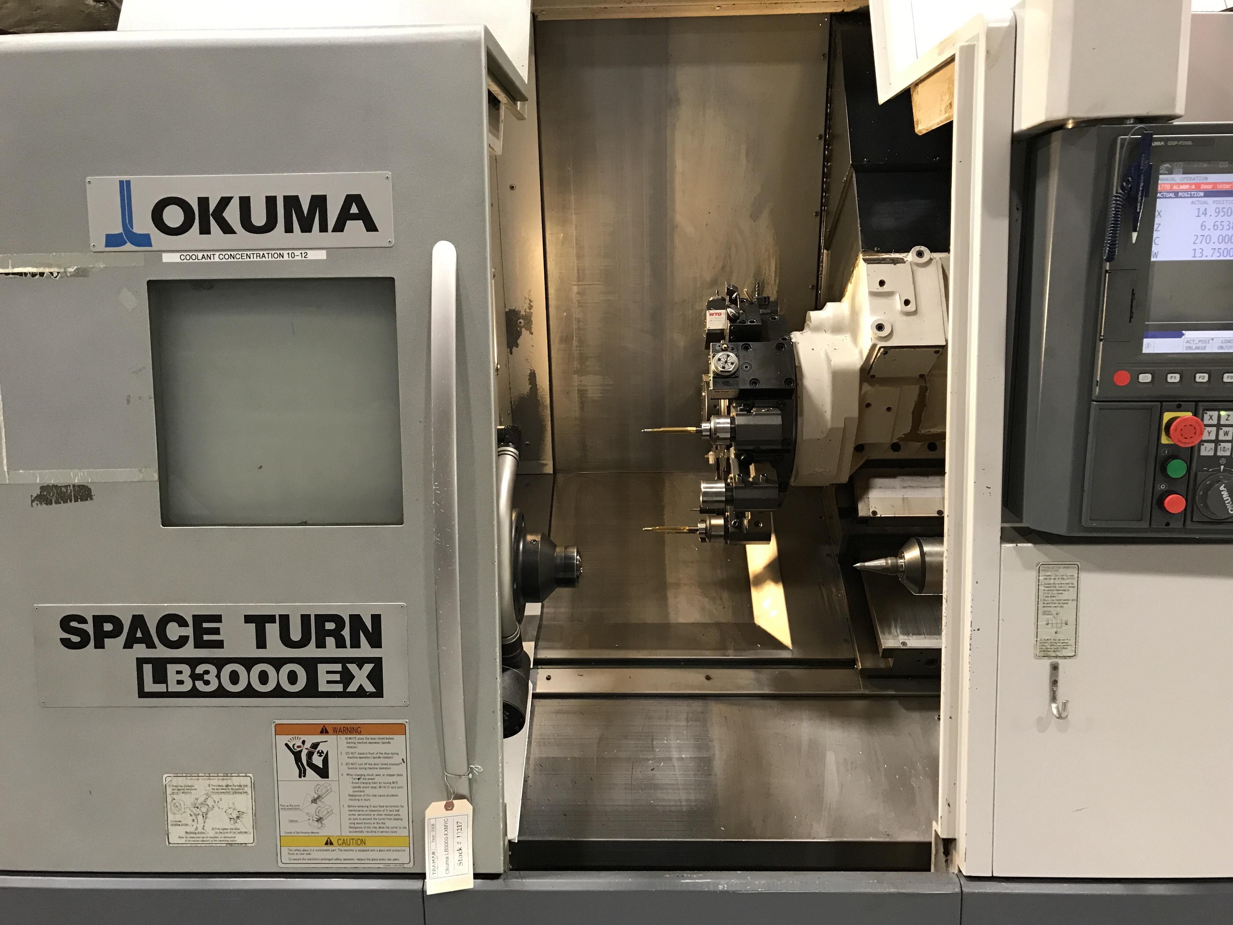 2008 OKUMA Spaceturn LB 3000EX-MYC